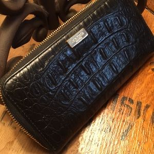 Kate spade croc wallet